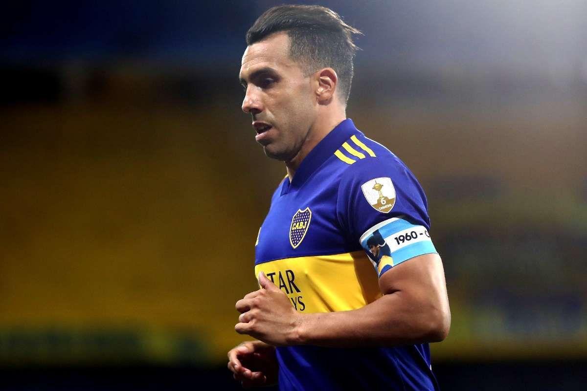 Tevez anunció su retiro de Boca.