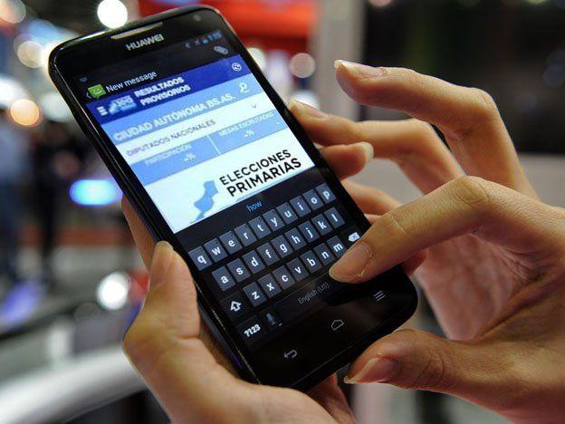 Los resultados de las PASO se podrán seguir por celular