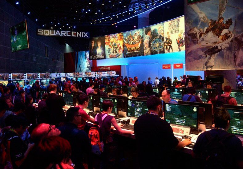 Mirá la mayor feria de videojuegos