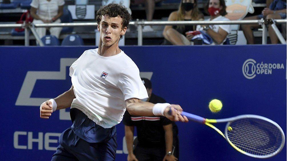 Cerúndolo se roba las miradas en el Argentina Open.