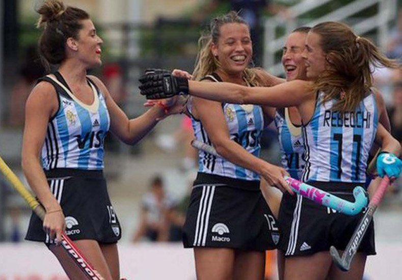 Las Leonas volvieron al triunfo y están cada vez más cerca de Río 2016