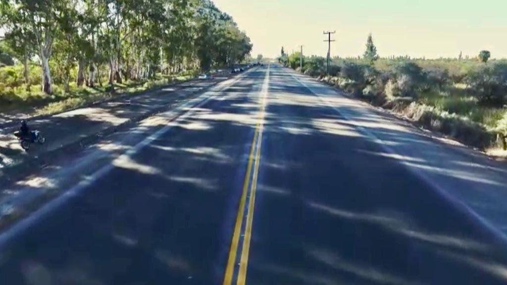 La Ruta 40, rehabilitada tras de la impactante grieta que sufrió por el terremoto