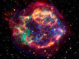 Una supernova sorprende al ser captada en señales de radio