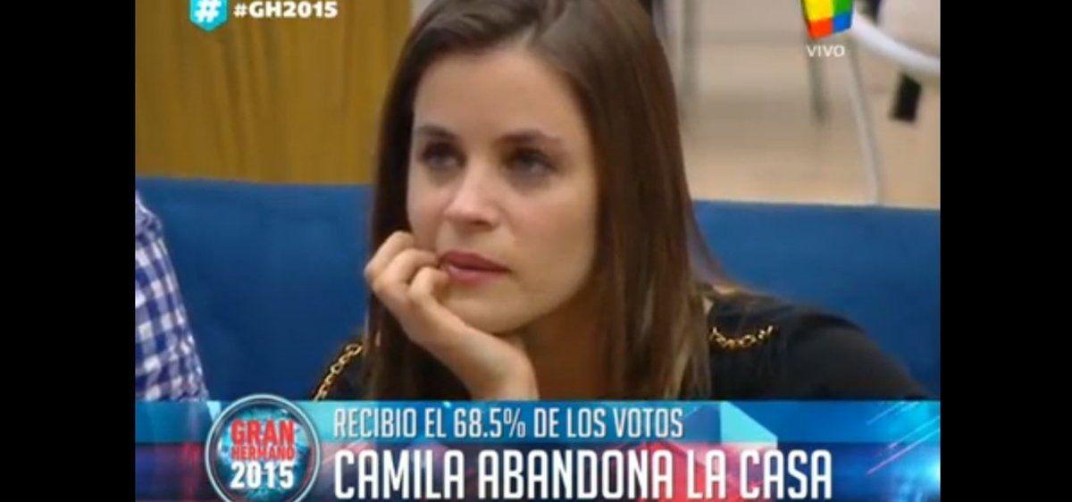 """Camila fue la segunda eliminada de """"Gran Hermano 2015"""""""