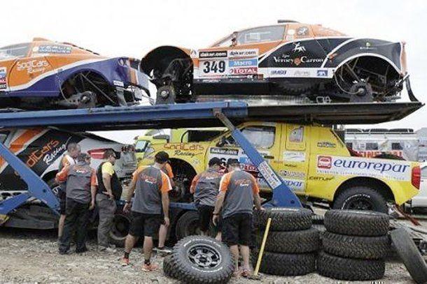 El Dakar 2013 arranca con todas las verificaciones y un gran entusiasmo