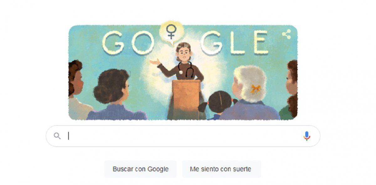 Google homenajea a la médica feminista argentina, Petrona Eyle