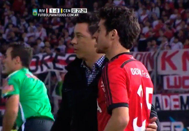 Pablo Aimar volvió a jugar en River luego de 15 años