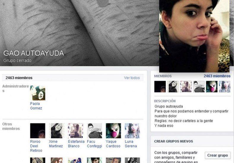 Qué es GAO, el grupo de Facebook que integraba Leonela