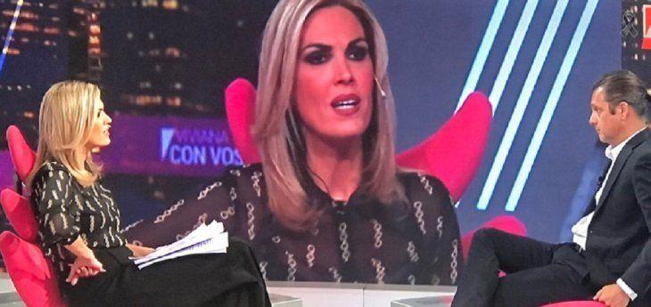 Viviana Canosa avisó que no usará barbijo en TV