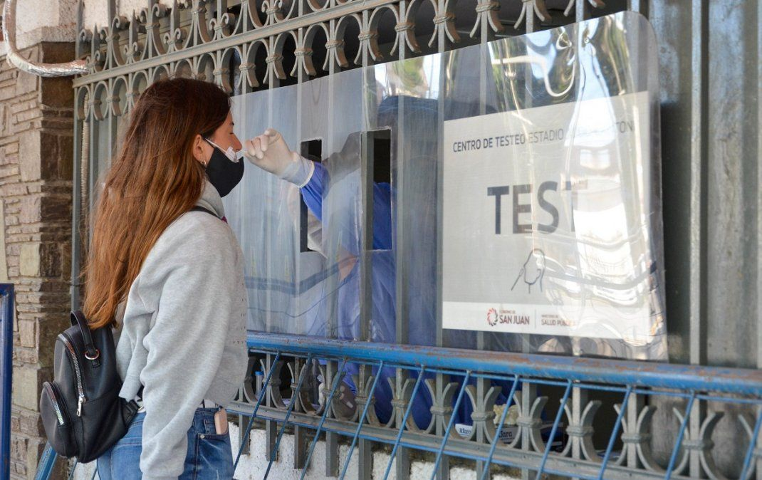 San Juan superó los 25.000 casos positivos de COVID-19