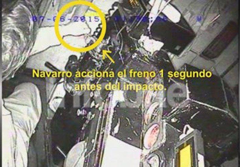 Accidente del tren en Temperley: las imágenes demostraron que el motorman no conducía