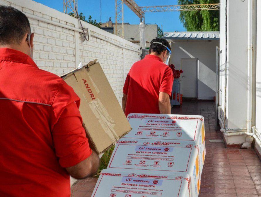 San Juan recibió 9.000 dosis de vacunas de Oxford y AstraZeneca