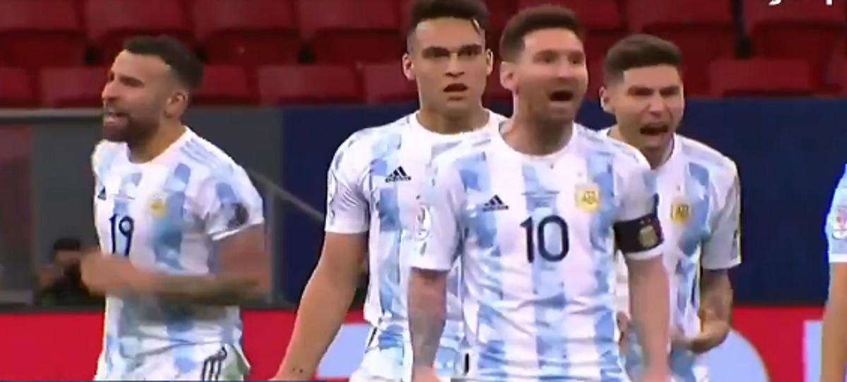 ¡Bailá ahora! La frase de Messi a Yerry Mina que se viralizó