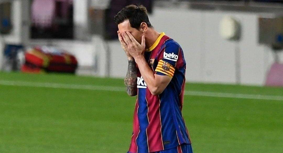 Messi recibió la suspensión por su primera roja en Barcelona