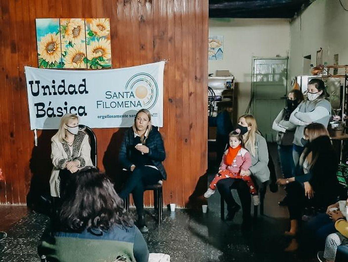 Aubone en la Unidad Básica Santa Filomena: Estar acá es estar en mi casa