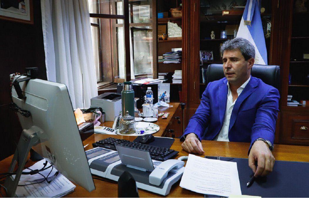 Uñac participó de la inauguración de las Jornadas COMEX online