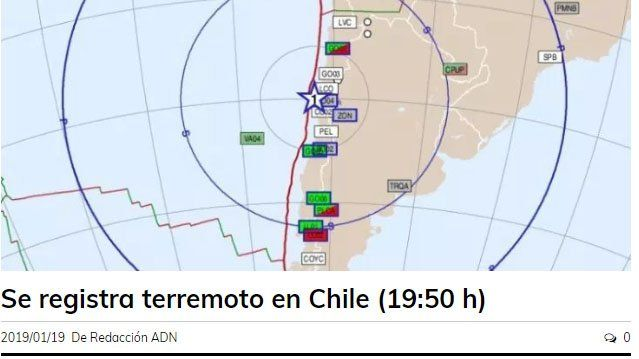 Así informaron los medios chilenos el tremendo terremoto que obligó a evacuar la zona costera