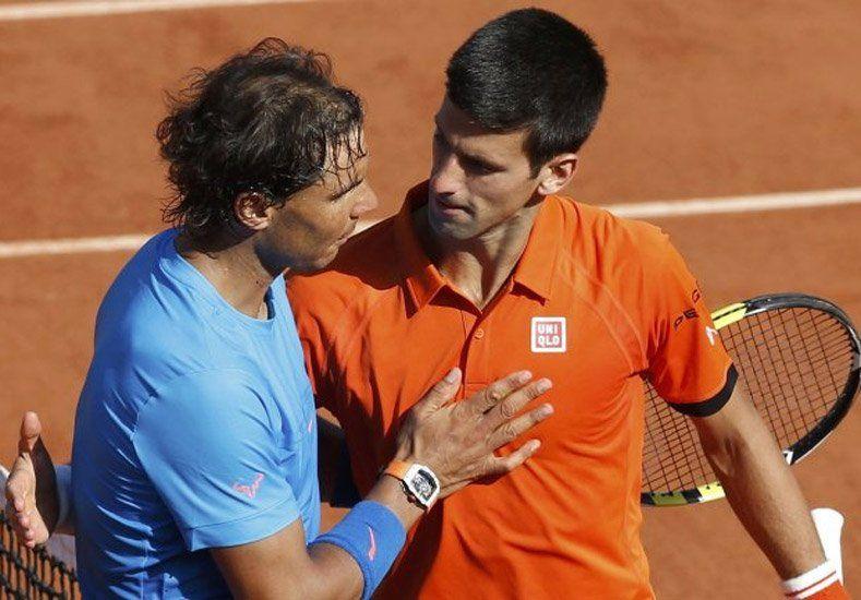 Djokovic no dejó lugar a dudas y borró a Nadal en cuartos de final de Roland Garros