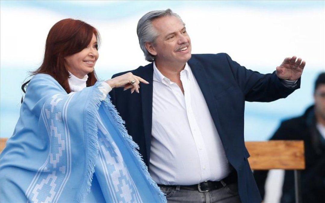 El Presidente y Cristina Kirchner cierran la campaña del FdT