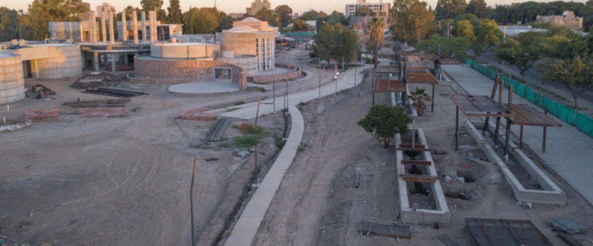 El Parque Belgrano sumará espacios verdes a la ciudad