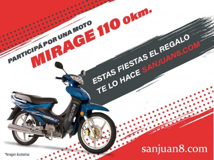 Sanjuan8.com sortea una moto para Año Nuevo