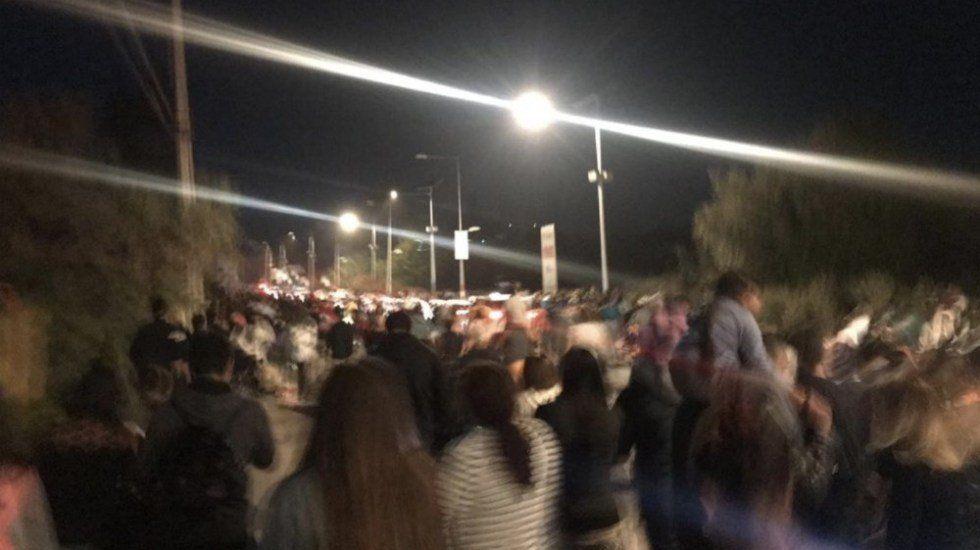 Videos: los registros que dejaron los turistas y lugareños sobre el dramático momento del temblor