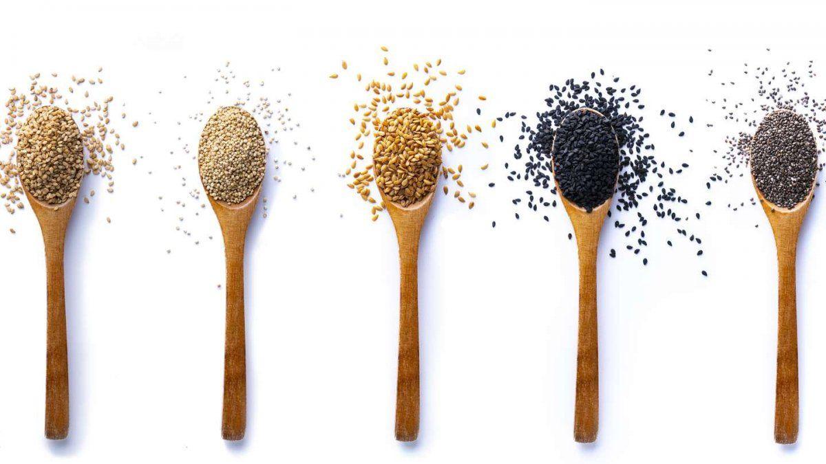 Las 5 semillas que deberías incorporar en tu dieta