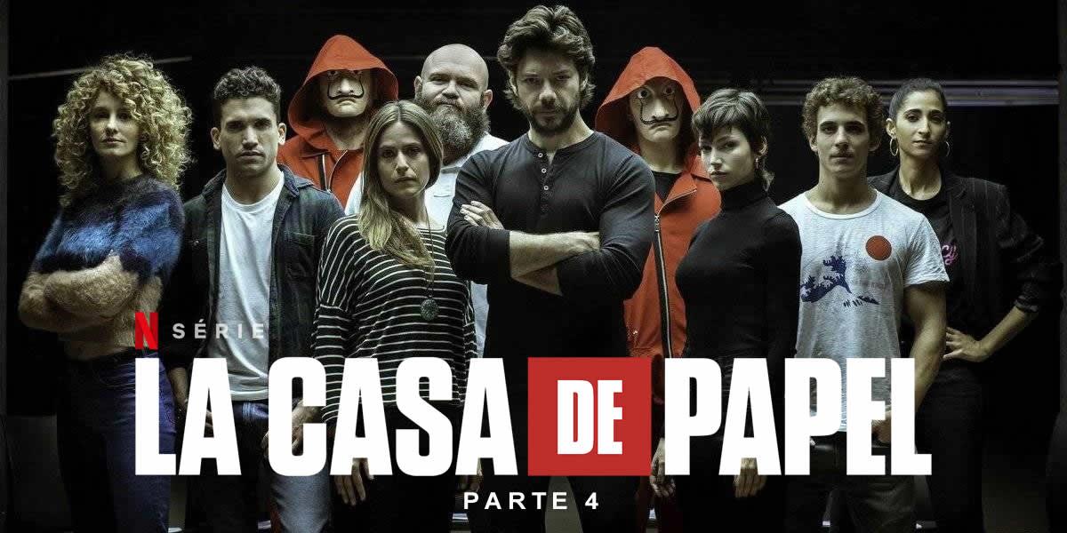 Netflix anunció los estrenos de abril y se destaca La Casa de Papel 4