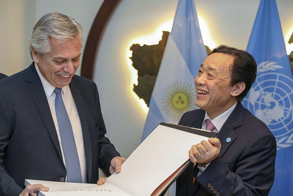 Fernández aseguró que la FAO se suma a la lucha contra el hambre en Argentina