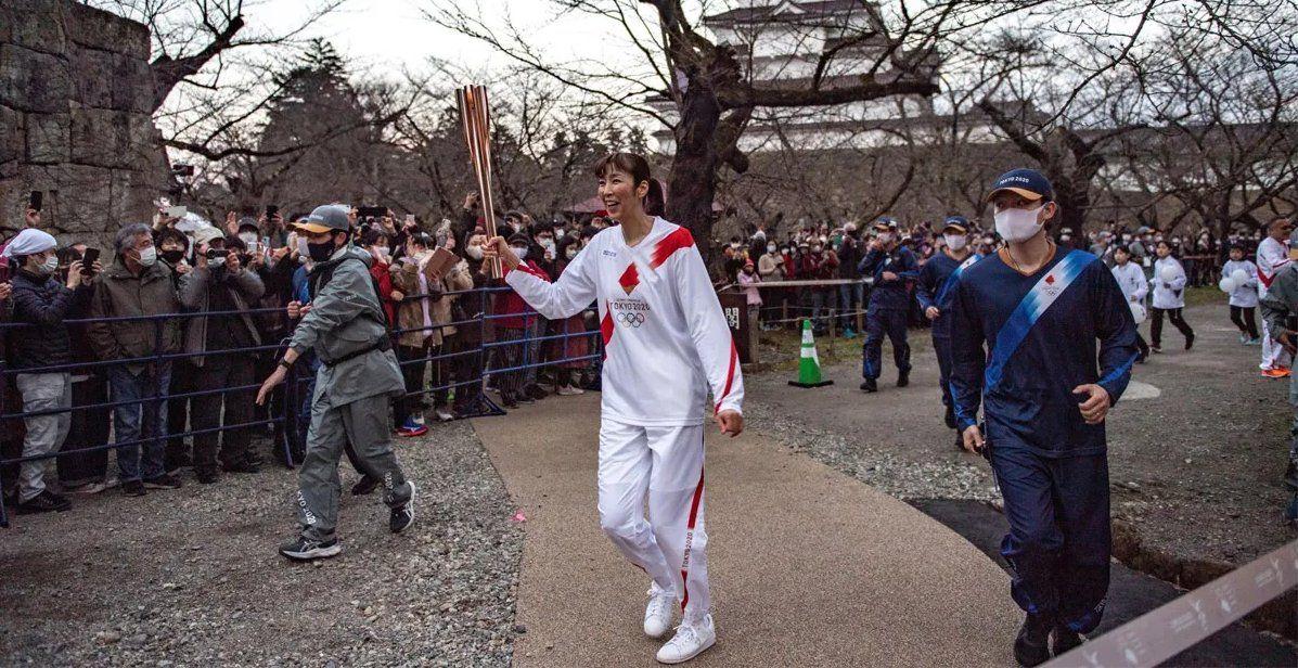 La antorcho olímpica podría detener en su paso por Osaka.
