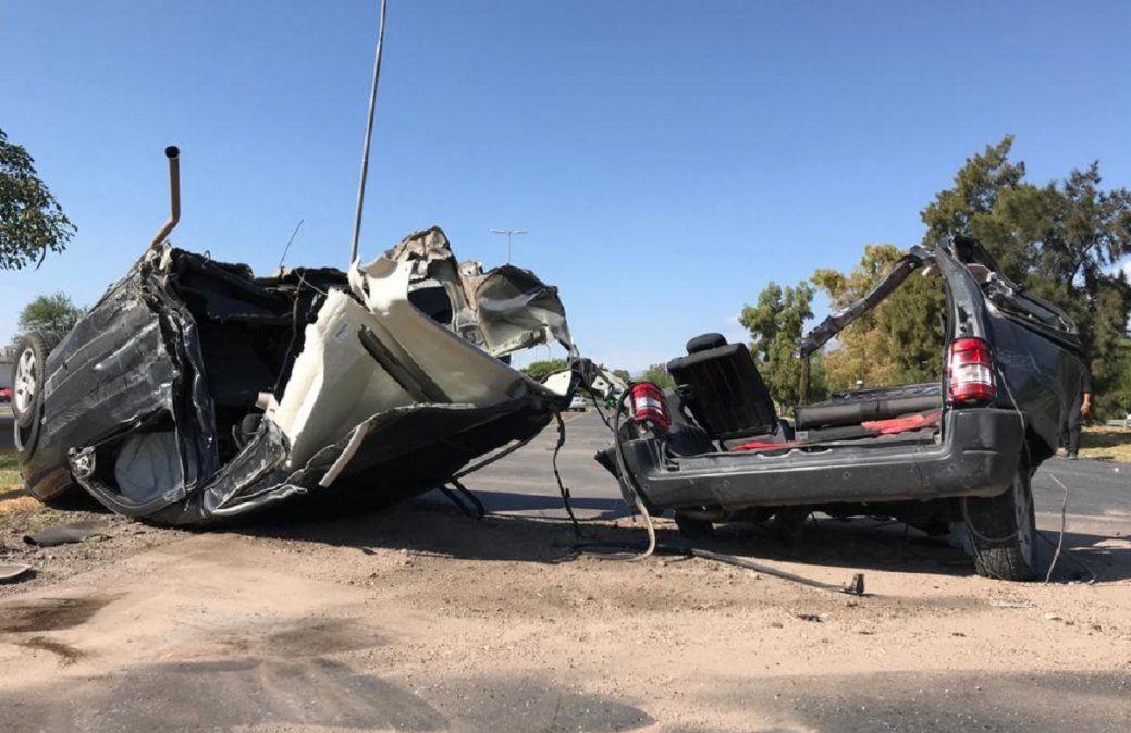 Accidente en Rawson: quién es el conductor que se salvó de milagro