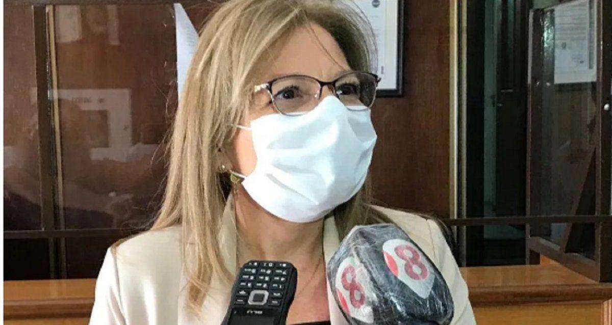 Aislaron a la ministra de Hacienda, Marisa López