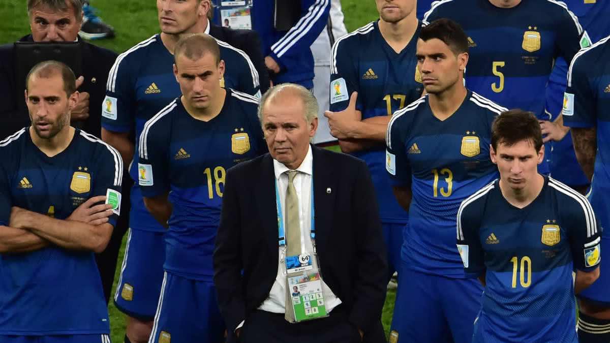 Sabella llevó a la Selección argentina a la final de Brasil 2014.