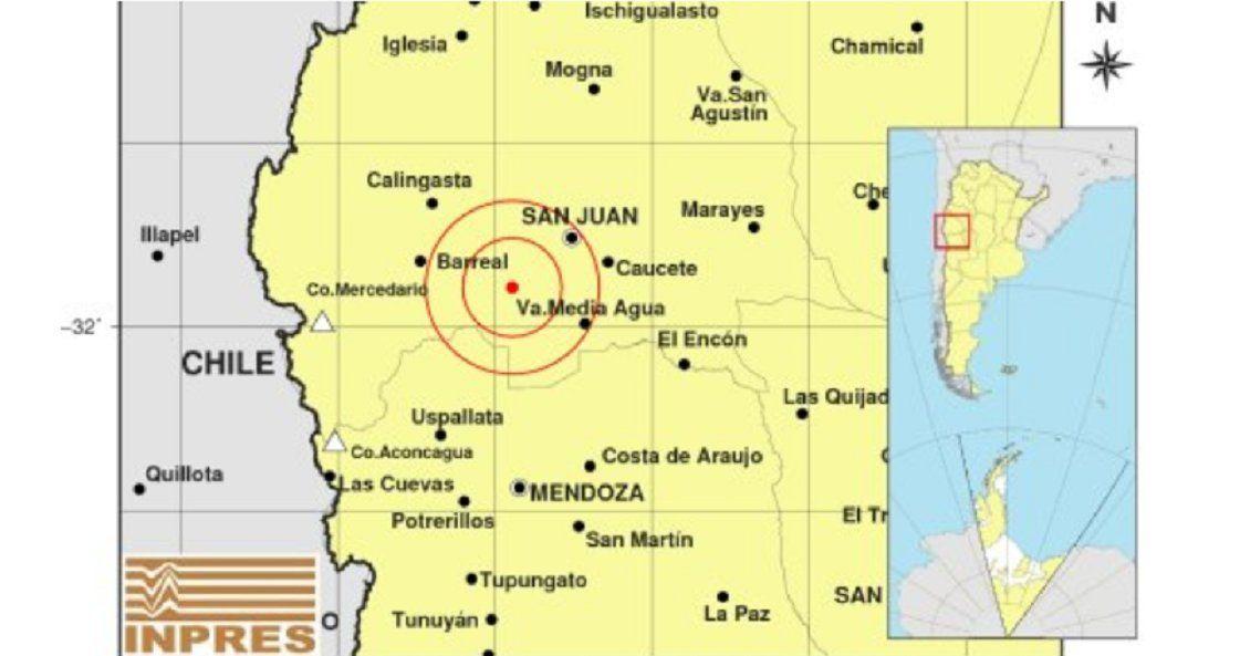 Un nuevo temblor sacudió a San Juan.