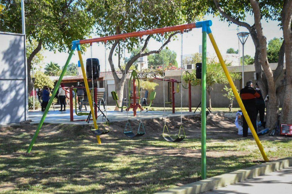 Recuperaron la quinta plaza del barrio Parque Independencia