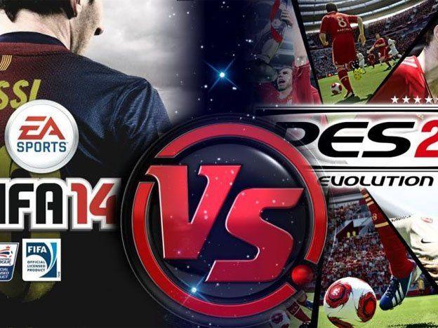 La batalla virtual será entre el PES 2014 y el FIFA 2014