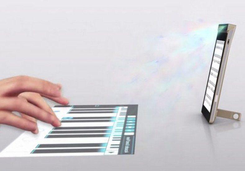 Lenovo en busca del primer smartphone con proyección táctil