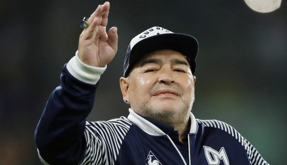 Maradona sigue evolucionando bien y ya tiene muchas ganas de irse