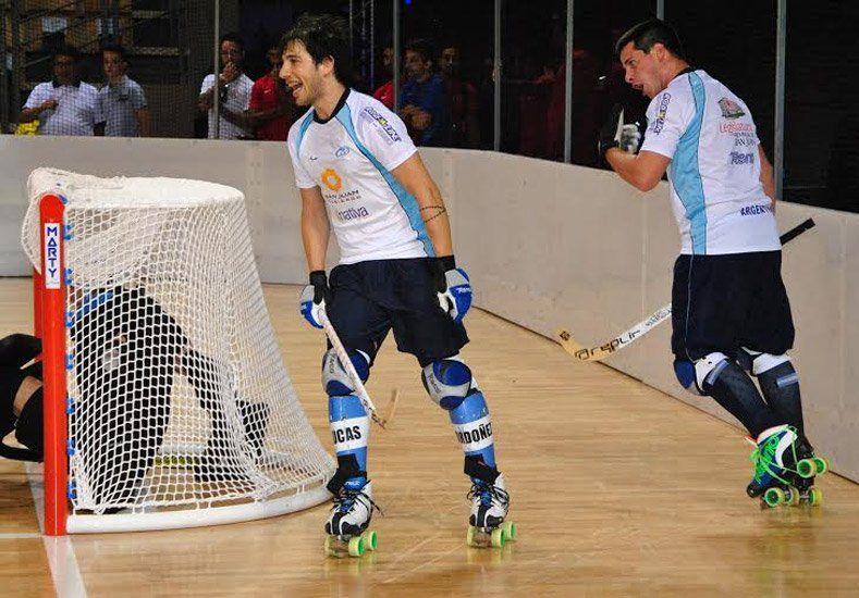 Todo listo: Argentina probó la pista del Mundial y aguarda por el estreno