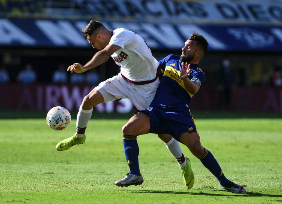 Boca vence a Lanús por la Copa Liga Profesional