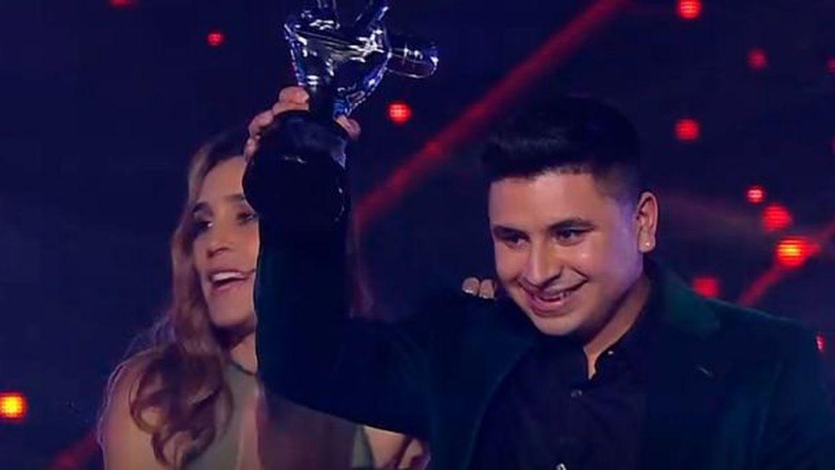 El ganador de La Voz Argentina, suma otro premio