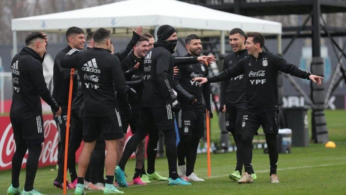 Argentina se prepara para enfrentar a Colombia.
