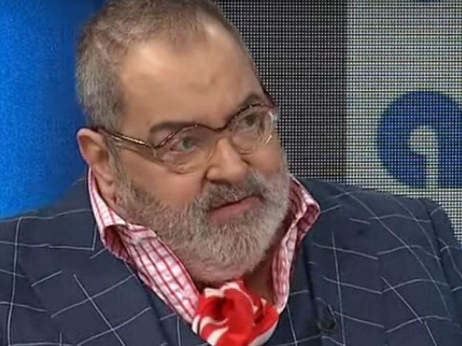 Se conoció el resultado del hisopado a Jorge Lanata