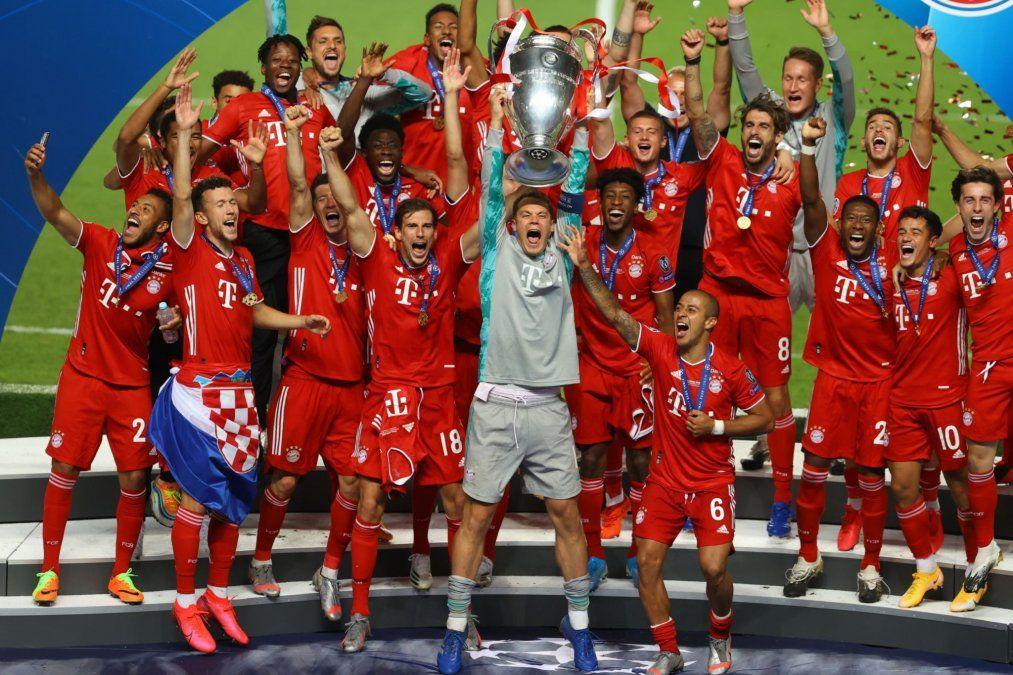 El Bayern embolsará más de 100 millones de euros por levantar la Champions