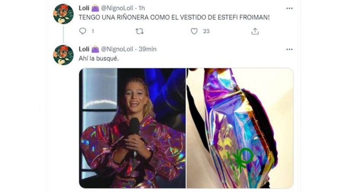 Explosión de memes: el extravagante vestuario de Stefi Roitman, la volvió viral