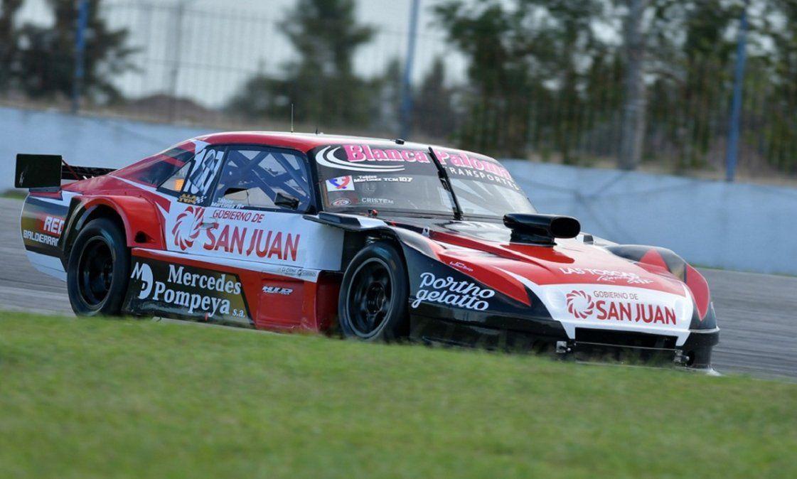 Tobías Martínez quedó 6° en la clasificación del TC Mouras