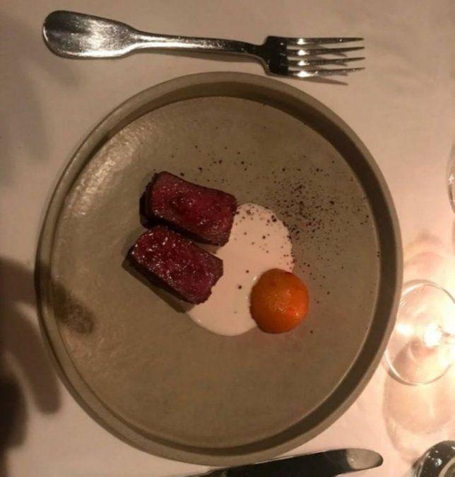 Los platos del restaurante de Germán Martitegui fueron duramente criticados.