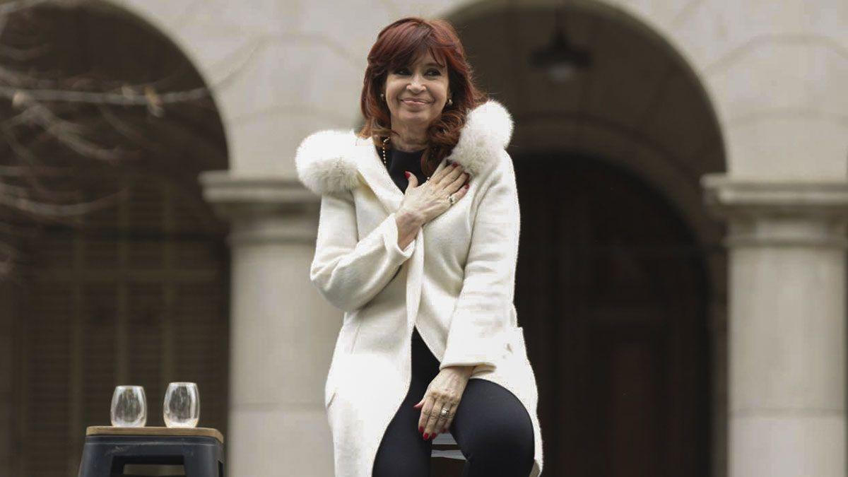 Cristina Kirchner rompió el silencio.
