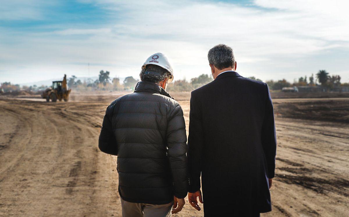 Preparan los terrenos donde construirán viviendas para los damnificados del terremoto