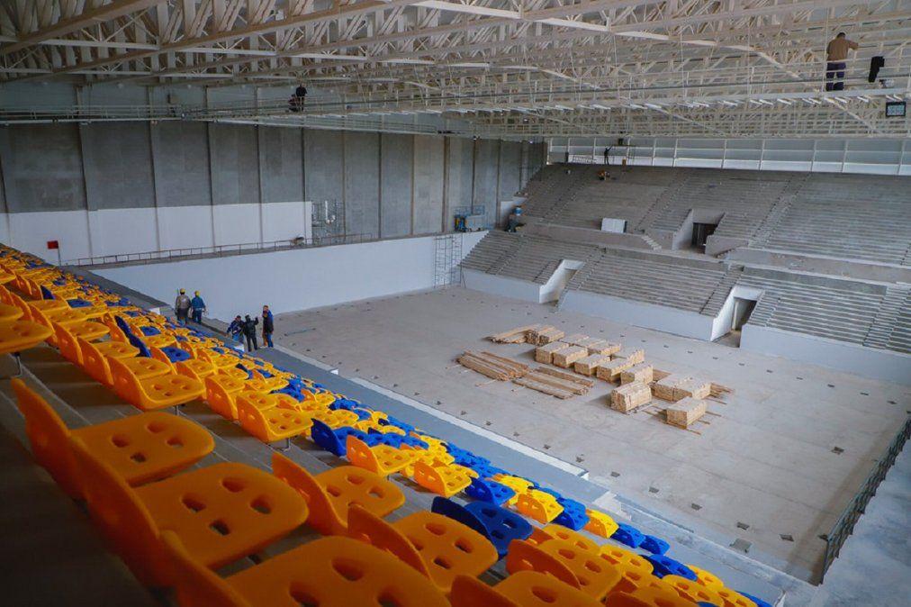El estadio de UPCN ya tiene un 88% de avance de obra
